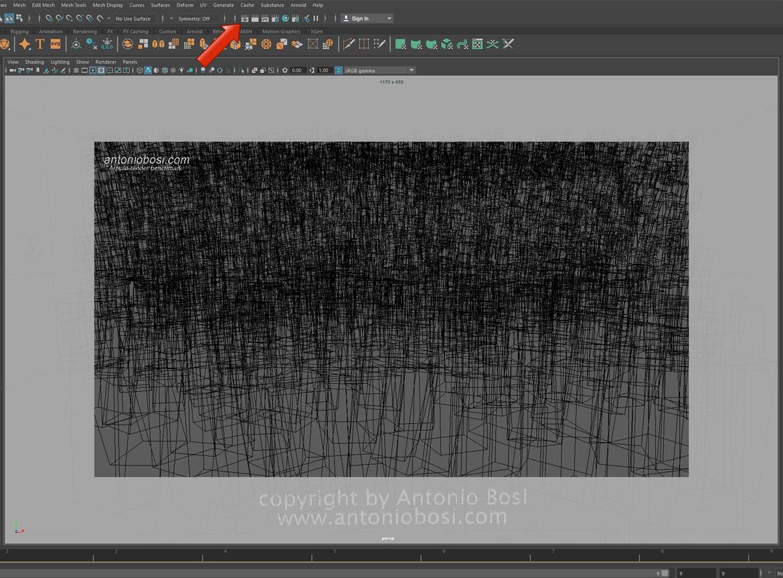 Arnold render CPU speed benchmark download (maya)