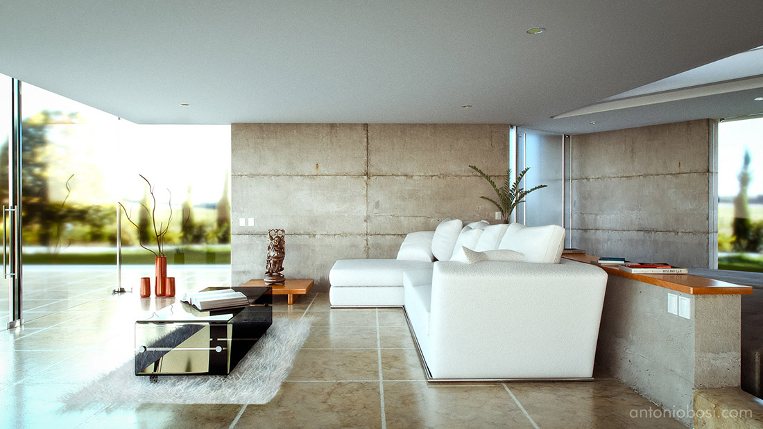 Concrete inspirations octane render interior rendering Interior design rendering software free