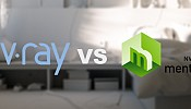 Arnold vs Mental ray: render comparsion