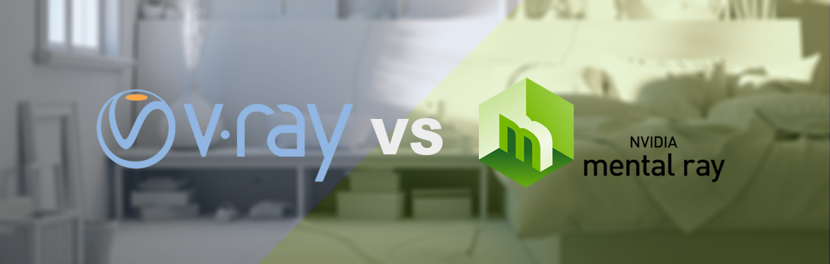 V-Ray Vs Mental Ray comparison, test and speed benchmark