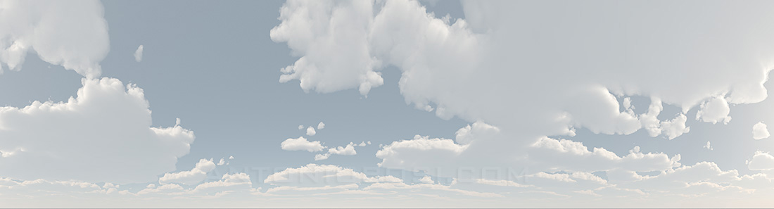 background environment Cloudy sky HDRI