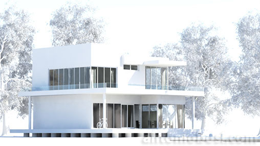 Mental Ray mia_exposure_simple compression for exterior renders in maya