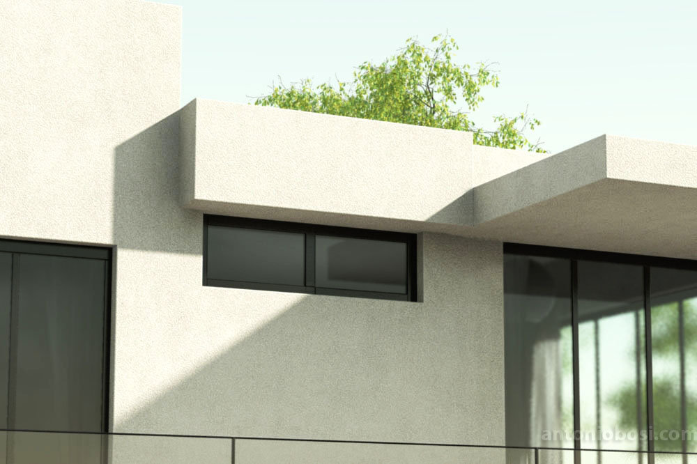 Mental Ray exterior render Ambien Occlusion (AO) in mia_material