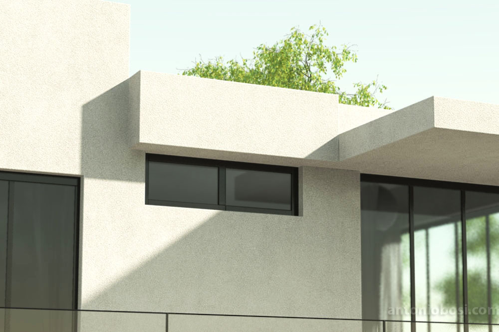 Mental Ray exterior render bump map texture in mia_material